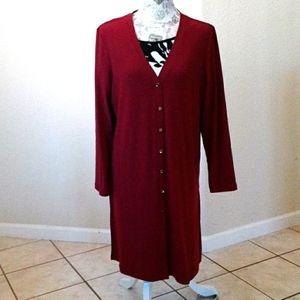 Susan Graver Liquid Knit Cardigan